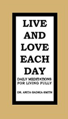 Live and Love Each Day: Book Image